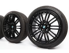 BMW Winterkompletträder 5er G30 19 Zoll Styling 664 M Doppelspeiche