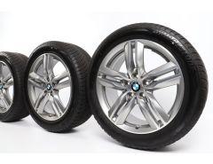BMW Velgen met Winterbanden X1 F48 X2 F39 18 Inch Styling 570 M Doppelspeiche