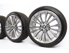 BMW Winter Wheels 5 Series G30 G31 19 Inch Styling 663 W-Speiche