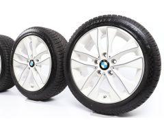 BMW Winterkompletträder 1er F20 F21 2er F22 F23 17 Zoll Styling 412 V-Speiche