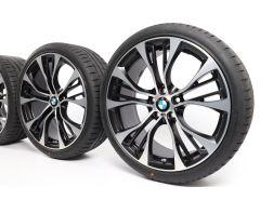 BMW Sommerkompletträder X3 F25 X4 F26 21 Zoll Styling 599 M Doppelspeiche