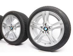 BMW Winterkompletträder X1 E84 18 Zoll Styling 355 M Doppelspeiche