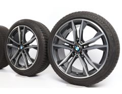 BMW Velgen met Winterbanden X1 F48 X2 F39 19 Inch Styling 715 M Dubbelspaak
