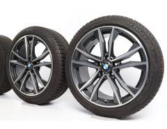 BMW Winterkompletträder X1 F48 X2 F39 19 Zoll Styling 715 M Doppelspeiche