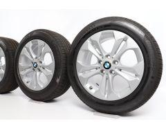 BMW Sommerkompletträder X1 F48 X2 F39 17 Zoll Styling 564 Doppelspeiche