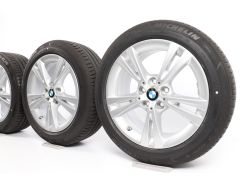 BMW Sommerkompletträder X1 F48 X2 F39 17 Zoll Styling 385 Doppelspeiche
