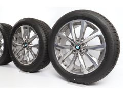 BMW Winterkompletträder X3 G01 X4 G02 19 Zoll Styling 692 V-Speiche