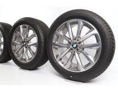 BMW Ganzjahresräder X3 G01 X4 G02 19 Zoll Styling 692 V-Speiche