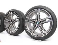 BMW Sommerkompletträder 1er F40 2er F44 18 Zoll Styling 556 M Doppelspeiche