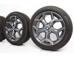 BMW Velgen met Winterbanden X1 F48 X2 F39 18 Inch Styling 569 Y-Speiche