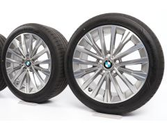 BMW Winterkompletträder 1er F40 2er F44 17 Zoll Styling 547 Vielspeiche
