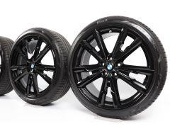BMW Sommerkompletträder X1 F48 X2 F39 20 Zoll Styling 721 V-Speiche