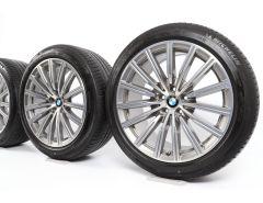 BMW Sommerkompletträder 6er G32 7er G11 G12 19 Zoll Styling 644 Vielspeiche