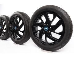 BMW Velgen met Winterbanden i3s I01 19 Inch Styling 428 Turbinenstyling