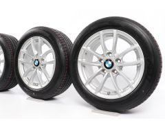 BMW Velgen met Zomerbanden 1 Serie F20 F21 2 Serie F22 F23 16 Inch Styling 378 V-spaak
