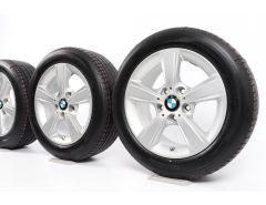 BMW Velgen met Zomerbanden 1 Serie F20 F21 2 Serie F22 F23 16 Inch Styling 376 Sternspeiche