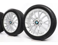 BMW Velgen met Zomerbanden 1 Serie F20 F21 2 Serie F22 F23 17 Inch Styling 380 Y-spaak