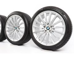 BMW Winterkompletträder 5er G30 Limousine 19 Zoll Styling 633 Vielspeiche