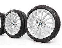 BMW Winterkompletträder 5er G30 19 Zoll Styling 633 Vielspeiche