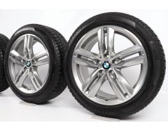 BMW Winter Wheels X1 F48 X2 F39 18 Inch Styling 570 M Doppelspeiche