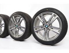 BMW Summer Wheels 2 Series F45 F46 18 Inch Styling 486 M Double-Spoke