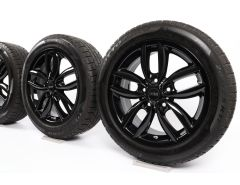 MINI Velgen met Winterbanden R60 Countryman R61 17 Inch Styling Double Spoke R124
