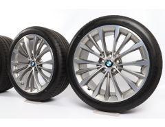 BMW Summer Wheels 5 Series G30 G31 19 Inch Styling 663 W-Speiche