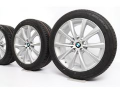 BMW Sommerkompletträder 5er G30 G31 18 Zoll Styling 642 V-Speiche