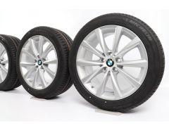 BMW Sommerkompletträder 7er G11 G12 18 Zoll Styling 642 V-Speiche