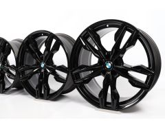 BMW Alufelgen X3 G01 X4 G02 21 Zoll Styling 718 M Doppelspeiche