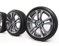 BMW Winter Wheels 1 Series F20 F21 2 Series F22 F23 18 Inch Styling 384 Doppelspeiche
