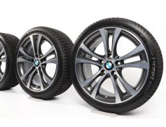 BMW Winter Wheels 1 Series F20 F21 2 Series F22 F23 18 Inch Styling 384 Doppelspeiche