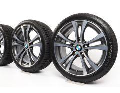 BMW Winterkompletträder 1er F20 F21 2er F22 F23 18 Zoll Styling 384 Doppelspeiche