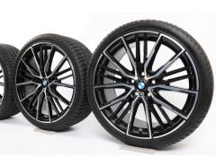 BMW Winter Wheels 1 Series F40 2 Series F44 19 Inch Styling 552 M Doppelspeiche