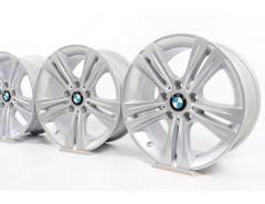BMW Alufelgen 3er F30 F31 4er F32 F33 F36 17 Zoll Styling 392 Doppelspeiche