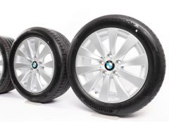 BMW Summer Wheels 3 Series F30 F31 4 Series F32 F33 F36 17 Inch Styling 413 V-Spoke