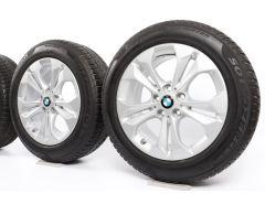 BMW Winterkompletträder X1 F48 X2 F39 17 Zoll Styling 564 Doppelspeiche