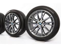 BMW Winterkompletträder 1er F40 2er F44 17 Zoll Styling 489 Y-Speiche
