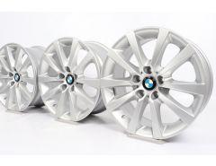 BMW Alufelgen 5er F10 F11 6er F06 F12 F13 18 Zoll Styling 328 V-Speiche