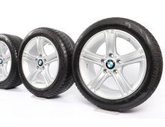 BMW Winterkompletträder 3er F30 F31 4er F32 F33 F36 17 Zoll Styling 393 Sternspeiche