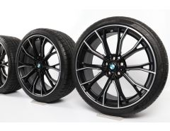 BMW Winter Wheels 5 Series G30 G31 20 Inch Styling 669 M Double-Spoke