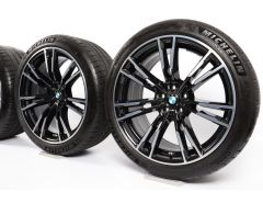 BMW Velgen met Zomerbanden M5 F90 20 Inch Styling 706 M Doppelspeiche