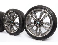 BMW Winterkompletträder 7er G11 G12 20 Zoll Styling 760 M Doppelspeiche