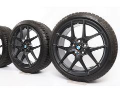 BMW Velgen met Winterbanden 1 Serie F40 2 Serie F44 18 Inch Styling 554 M Y-Speiche