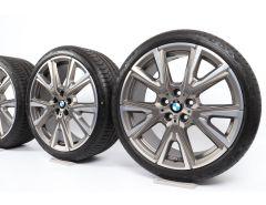 BMW Winterkompletträder 1er F40 2er F44 19 Zoll Styling 557 M V-Speiche