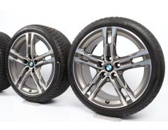 BMW Winter Wheels 1 Series F40 2 Series F44 18 Inch Styling 556 M Doppelspeiche