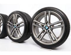 BMW Velgen met Zomerbanden 1 Serie F20 F21 2 Serie F22 F23 18 Inch Styling 719 M Doppelspeiche