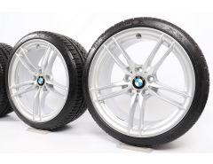BMW Winterkompletträder M3 F80 M4 F82 F83 19 Zoll Styling 641 M Doppelspeiche