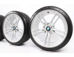 BMW Winterkompletträder M2 F87 19 Zoll Styling 641 M Doppelspeiche