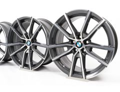 4x BMW Velgen 3 Serie G20 G21 4 Serie G22 G23 18 Inch Styling 780 V-Speiche